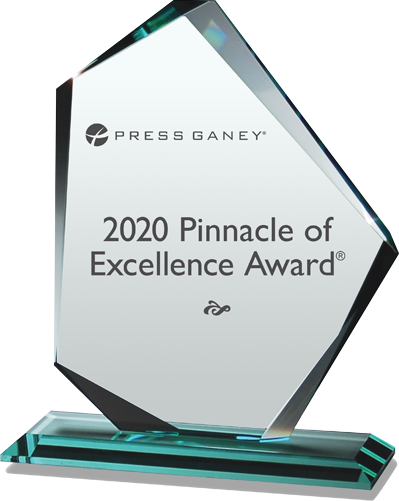 2020 Pinnacle of Excellence Award